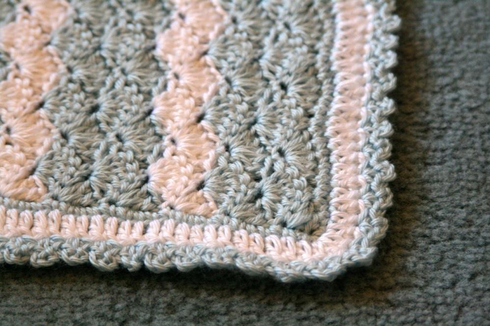 Shell Stitch Baby Blanket (4/6)