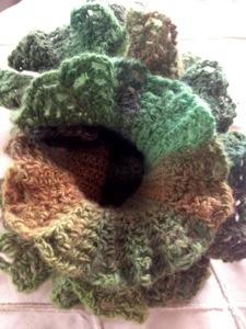 Lodo ruffle scarf (2/2)