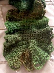 Lodo ruffle scarf (1/2)